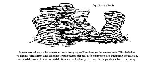 ... und sich die Pancake Rocks anzuschauen