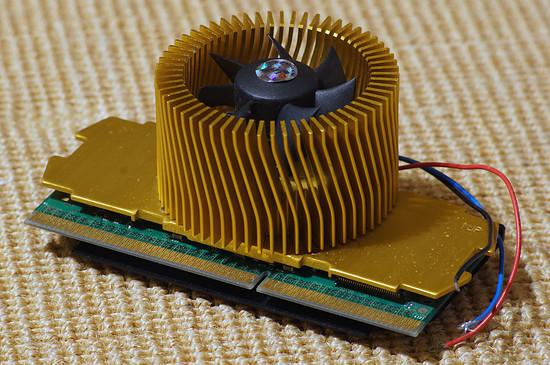 Intel Pentium II @ 400 MHz, 512 MB cache, 100 MHz FSB, 2