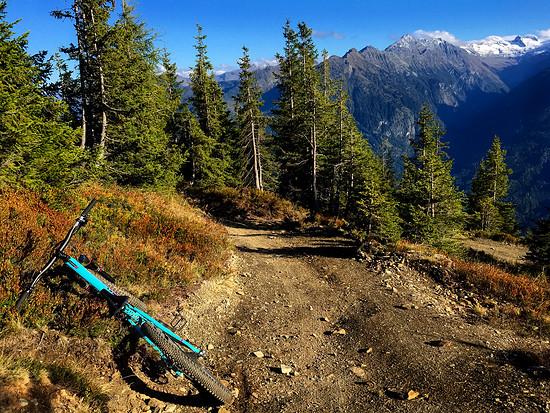 Feinstes Bergwetter - so macht das Biken richtig Spaß!