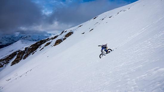 Ski waagrecht