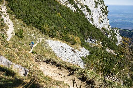 Uphill fetzt mehr als Downhill