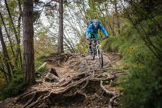 lebendige Trails am Gardasee