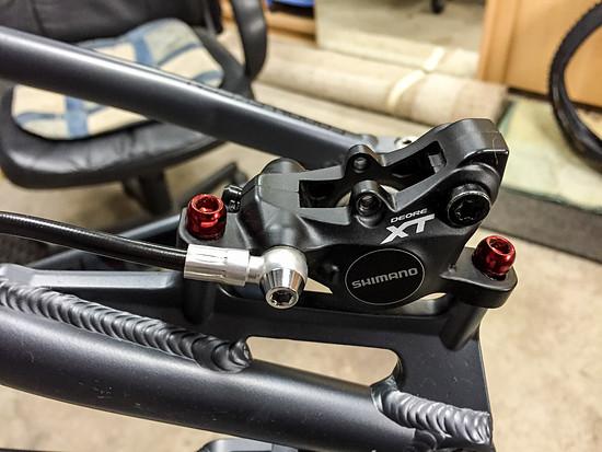 Bremsen - Stahlschrauben