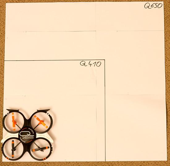 ACME Q165 Größenvergleich -9158