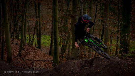 STG Rider beim Stylen im Tauwetter