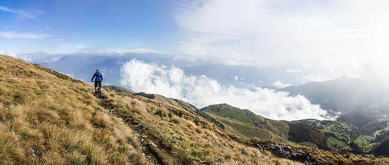 Vom Gipfel des Altissimo