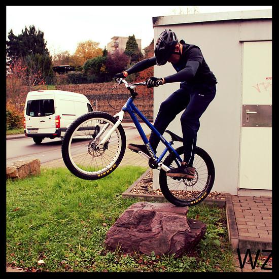 Kurze Bikerunde