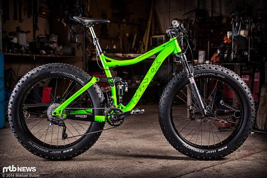 Test-Bike: Maxx Huraxdax Pro FL