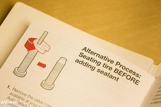 """Von Bontrager als """"Alternative"""" Methode vorgestellt nutzen wir eigentlich immer dieses sauberere Verfahren"""