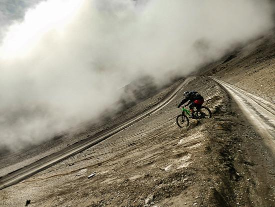 Skreeing at 4700m