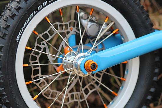 Farblich habe ich das Rad so gut es geht abgestimmt und selbstverständlich die kleinen Details nicht vergessen
