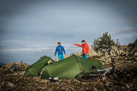 Camping-Urlaub.