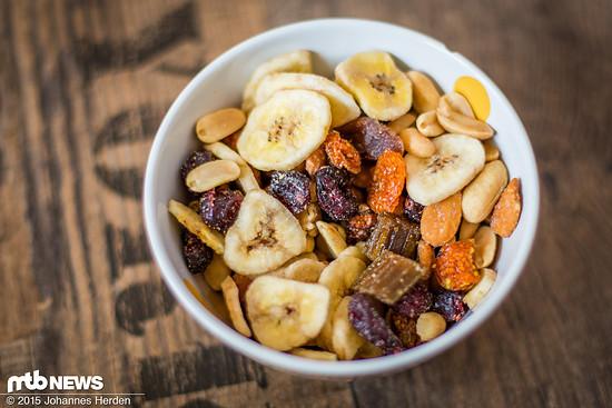 Bananen, Physalis, Erdnüsse, Rhabarber und Co