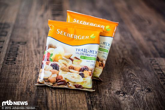 Süß und salzig - der Seeberger Trail Mix
