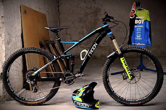 Radon Factory Racing - das Team Bike