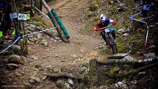 Loic Bruni - Quali UCI DH WC #1 Lourdes
