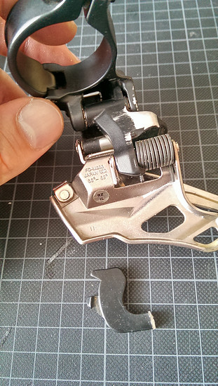 XTR Umwerfer FD-M986 ohne Down Swing Arm