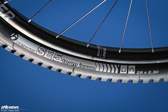 Der SE5 Team Issue richtet sich an Enduro- und Trail-Bikes