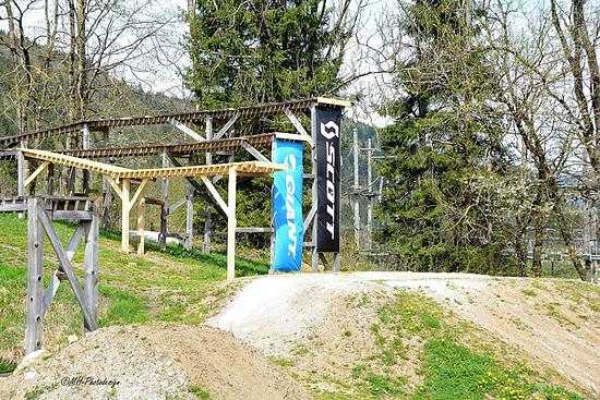 JJ Drops - 3 / 4  / 5m  Bikepark Lenggries