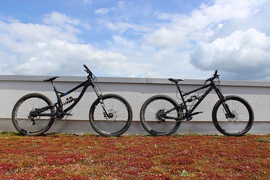 2 x schwarz, 2 x XL, 2 x 650b