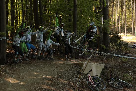 7 Hills Riders am Stimmung machen