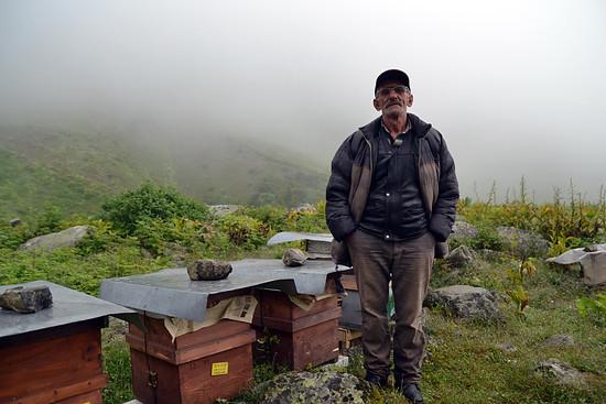 Amat Revolverheld - den gesamten Sommer verbringt er in den Bergen des pontischen Gebirges...