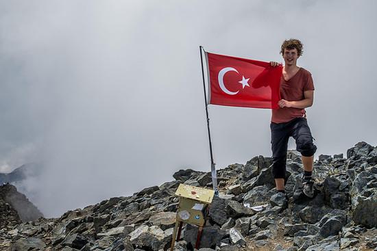 Gipfelglück auf 3933 Metern