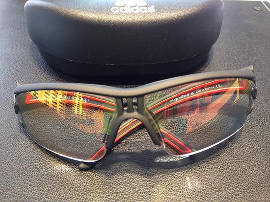 Adidas Evil Eye Halfrim S mit Gleitsichtgläser
