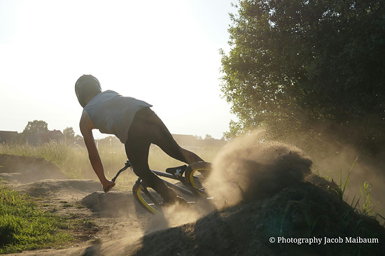 A dirty day at the Pumptrack
