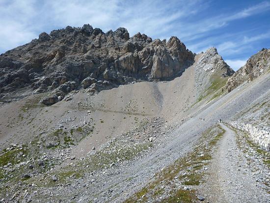 Der Weg ist das Ziel, der Anstieg zum Rocca Brancia.
