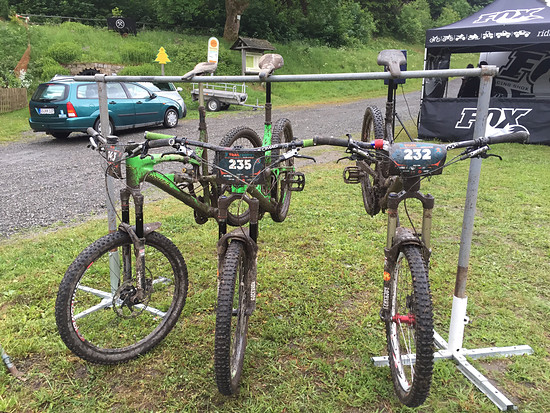 Trailtrophy Harz 2015 1. Tag in Sankt Andreasberg