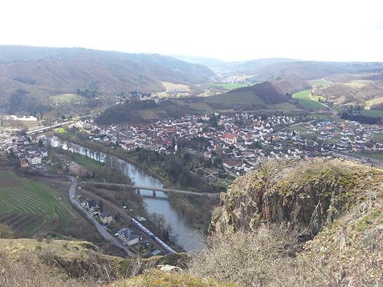 Rotenfels mit Ebernburg