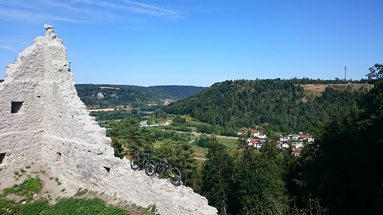 Rumburg bei Enkering, Altmühltal