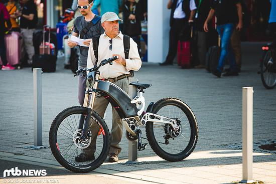 Auch eins der eher speziellen Bikes auf dem diesjährigen Demoday