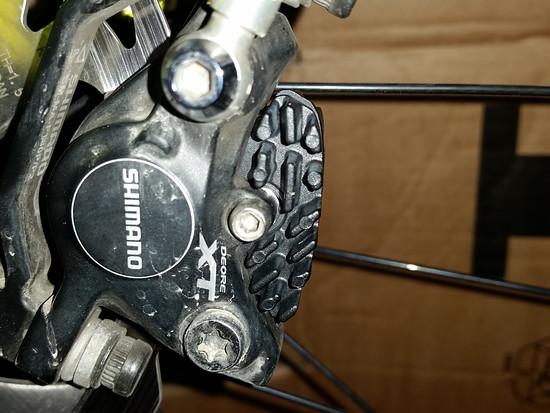 neue Bremsklötzer für mein Rad