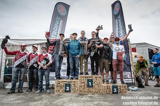 Gewinner in Lenzerheide in der Klasse Rider Team