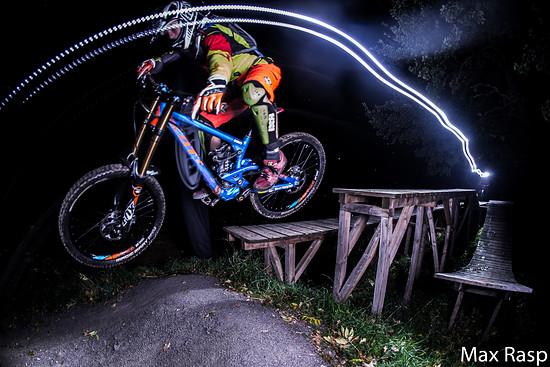 Chiemgau Valley Night Flight