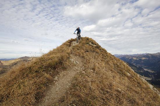 Gipfelabfahrt