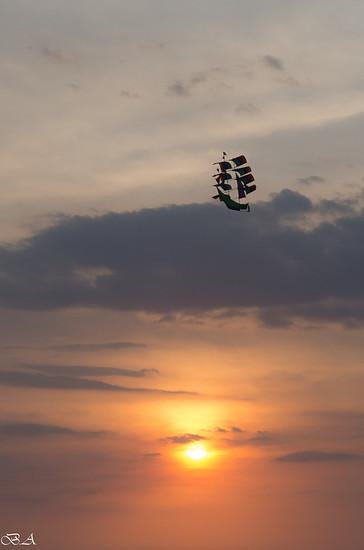 Fliegendes Schiff
