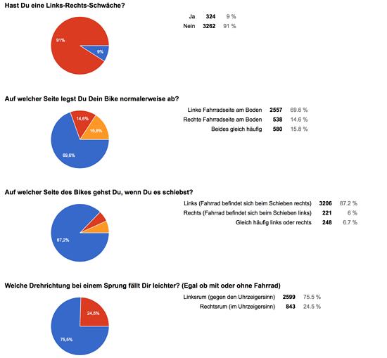 Umfrageergebnis Teil 3