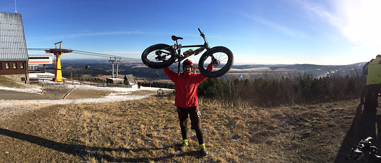 Silvester Fichtelberg Ride