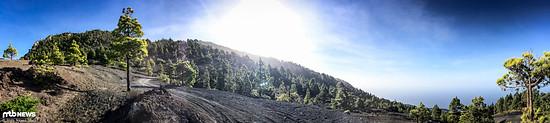 Bestes Testwetter auch im Winter auf La Palma