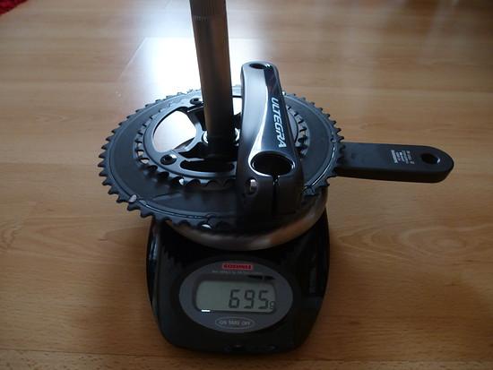 Kurbel Shimano Ultegra 2x11-fach  FC-6800 50/34 172,5mm