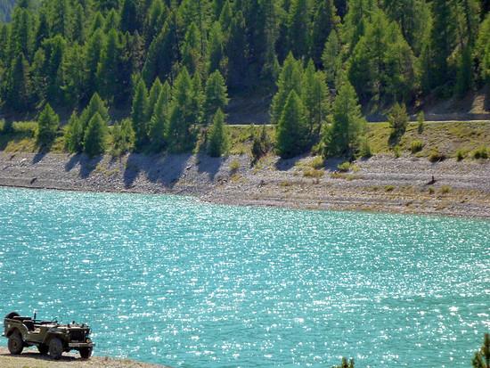 alter Willys am Lago di San Giacomo