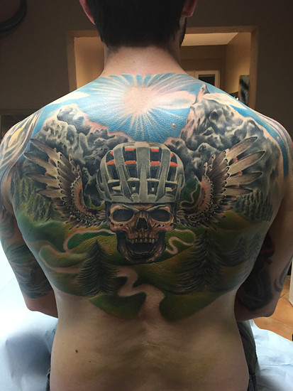 Back Tattoo *NOT finish*