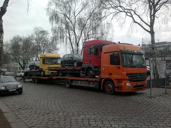 Polnische Autohändler