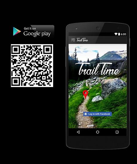 Unsere App zur Messung deiner Trail Zeiten