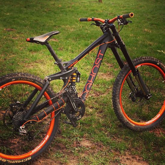 Ghost Bike DH 7000 Custom