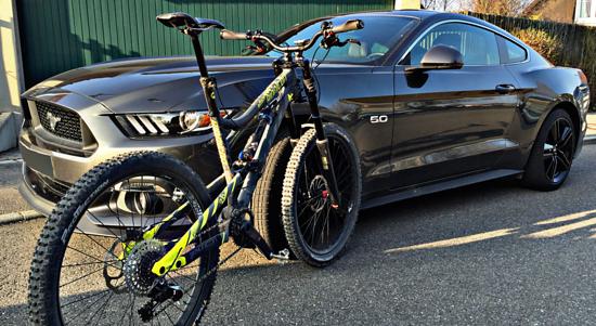 Bionicon Edison 180mm versus Mustang GT