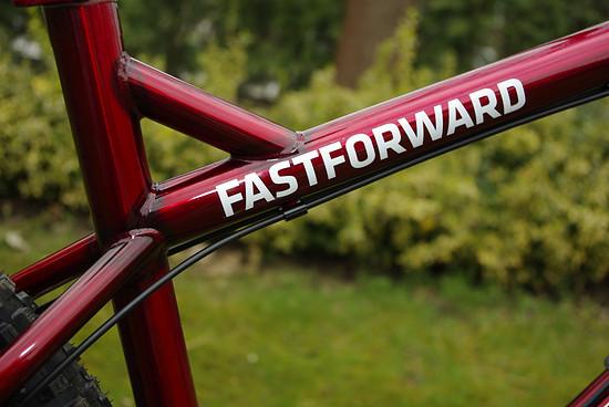 LAST Fastforward transparent red XL